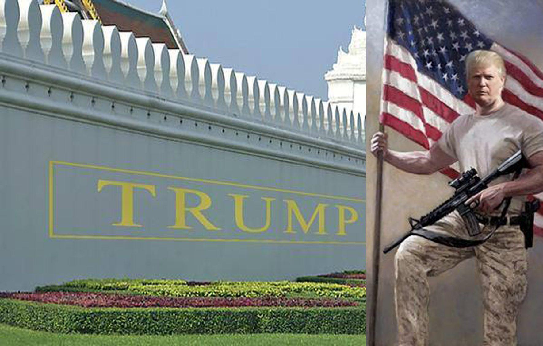 trump walls