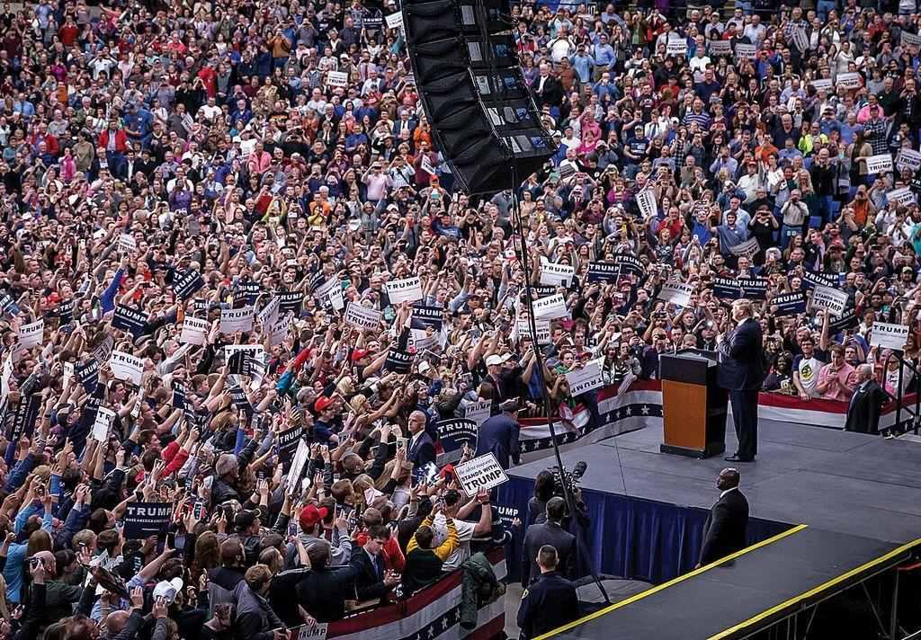 Trump rally illinois 4