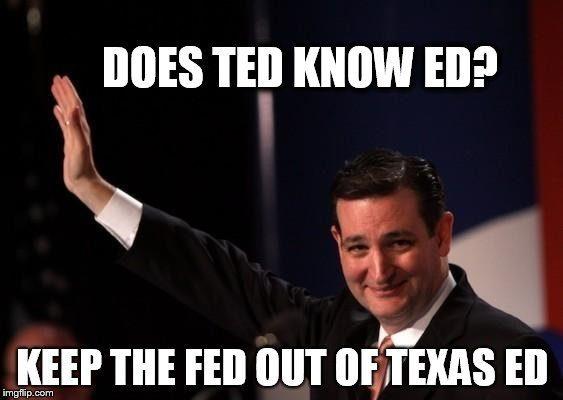 No Fed in Texas Ed