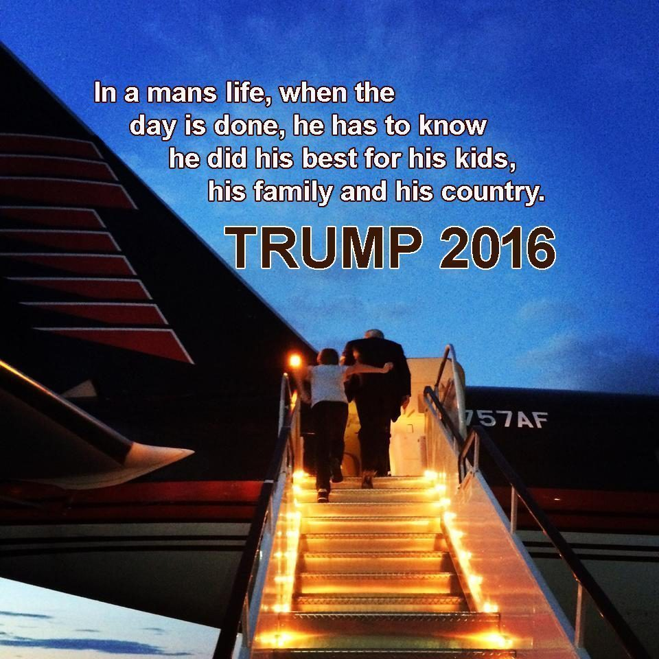 trump day is done
