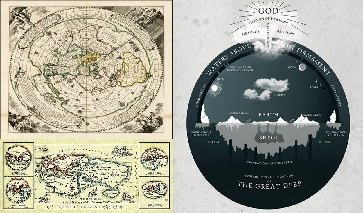 flat-earth-maps
