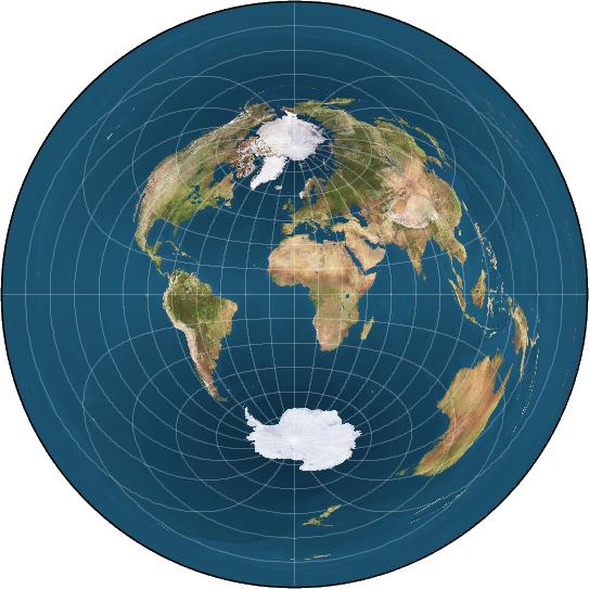flat earthAltmap