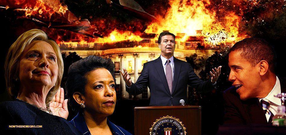 HILLARY crooked-hillary-james-comey-fbi-loretta-lynch-barack-obama-private-email-server-scandal-nteb