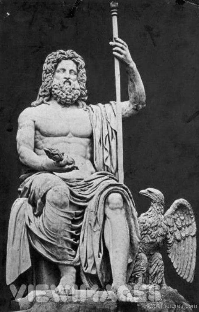 jupitor Statue-Of-God-Jupiter