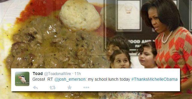MICHELLE Thanks-Michelle-Obama-school-lunch
