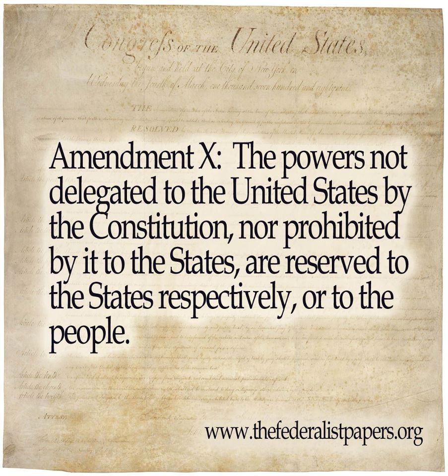 amendment 10th