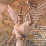 enoch angel sounding 1st trumpet