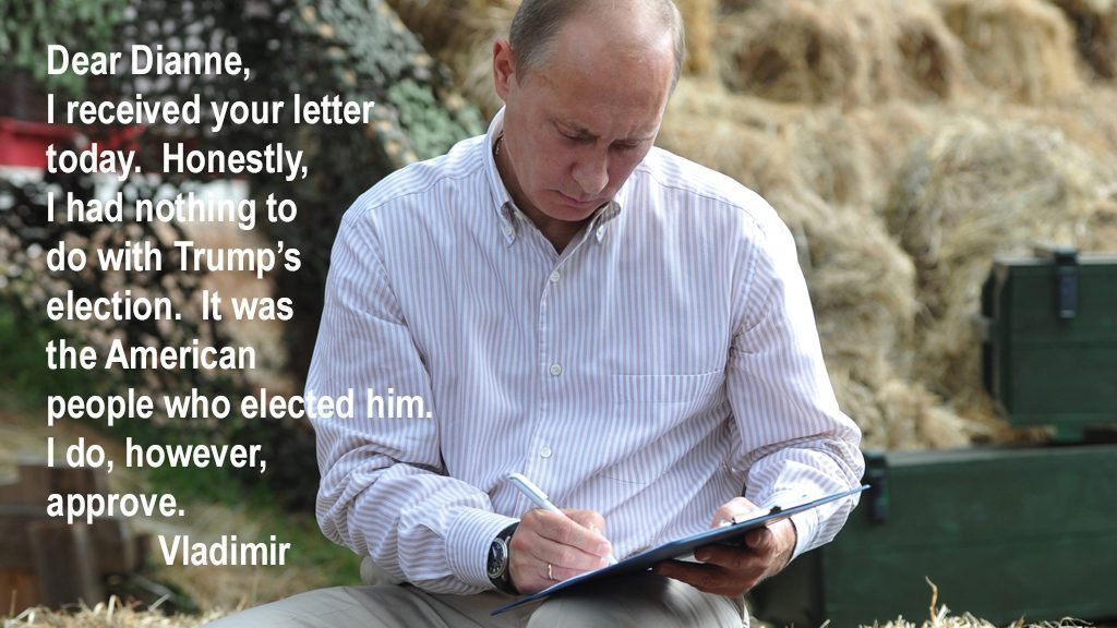 Russian Prime Minister Vladimir Putin wr