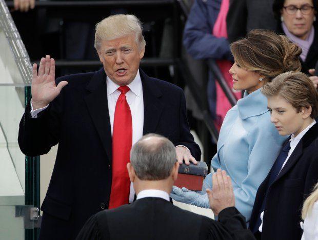 APTOPIX Trump Inauguration