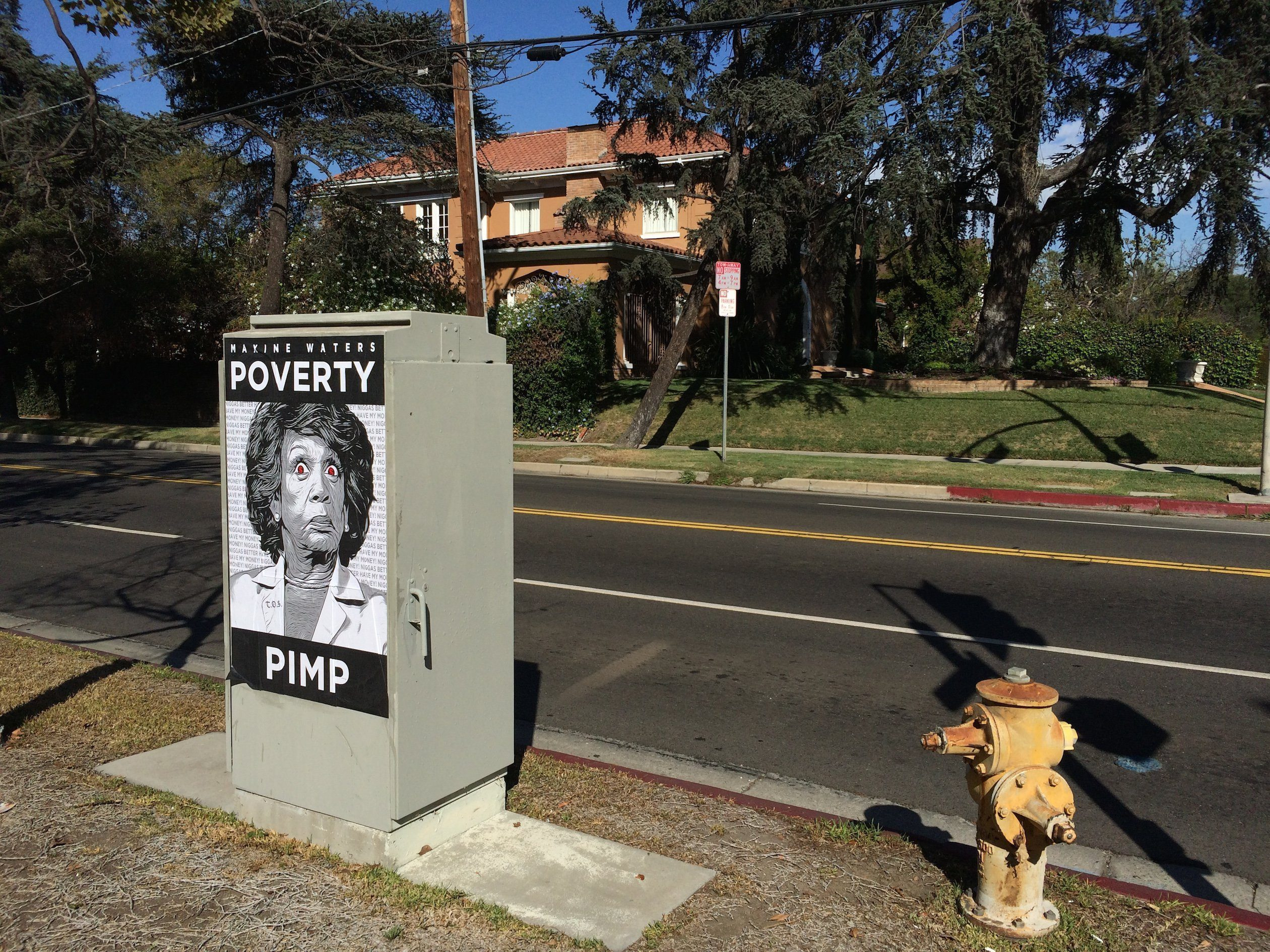 zzzzzzzzzzzzzzzzzzzzzzzzzzzzzzzzzzzzzzzzzzzzzzzzzzzzzzzzzzzzzzzzzMaxine-Waters-Poverty-PimpPoster-in-front-of-her-Hancock-Park-Mansion-2