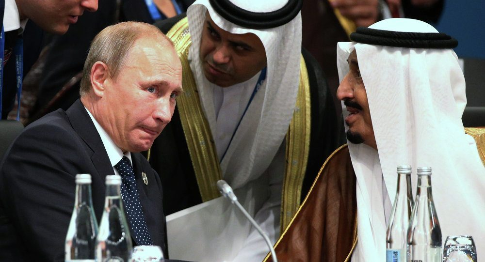 PRESIDENT TRUMP, KING SALMAN, PRESIDENT PUTIN AND 1,700 FROZEN SAUDI DOMESTIC BANK ACCOUNTS... WHAT COULD THIS ALL MEAN?