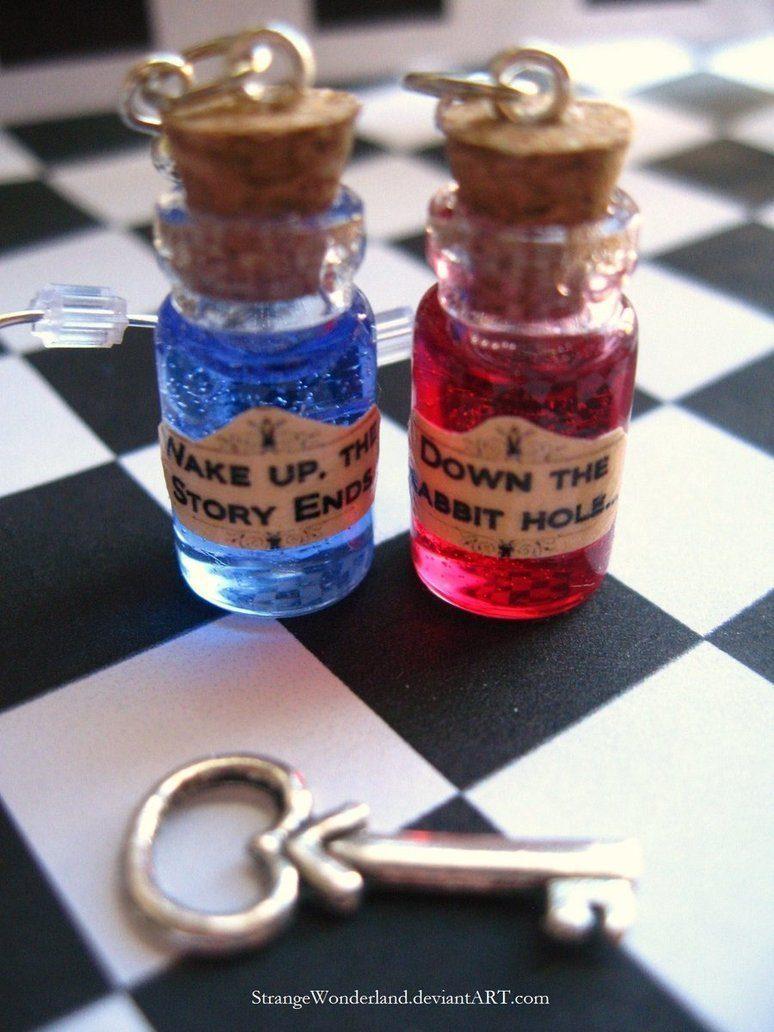 red pill blue pill by strangewonderland