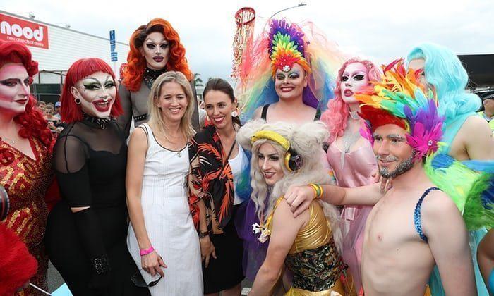 jacinda gay pride parade
