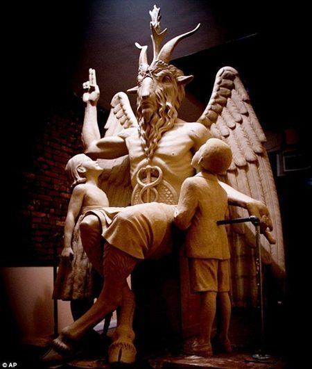 satanic cult sculptre 1