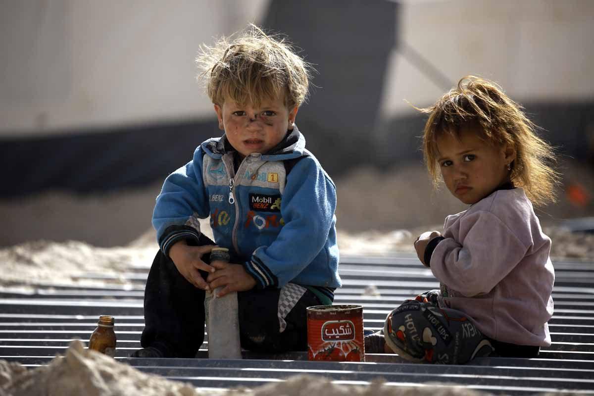 SYRIA-IRAQ-CONFLICT-REFUGEE