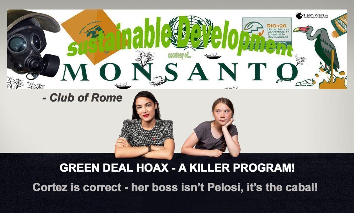 GREEN DEAL HOAX  - A KILLER PROGRAM!