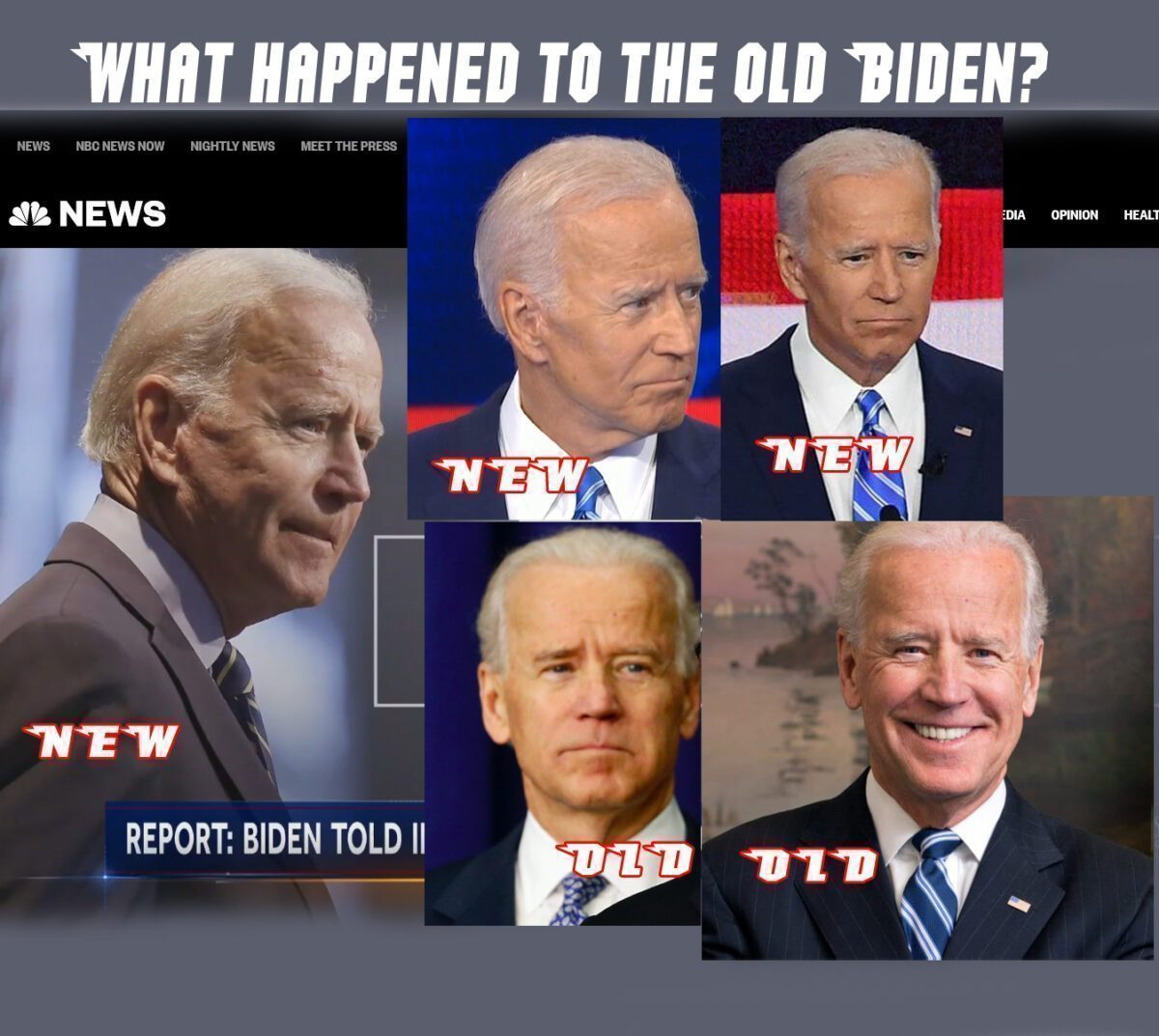 Biden an A.I. Chipping Gone Awry? Dementia? Or Something Else?