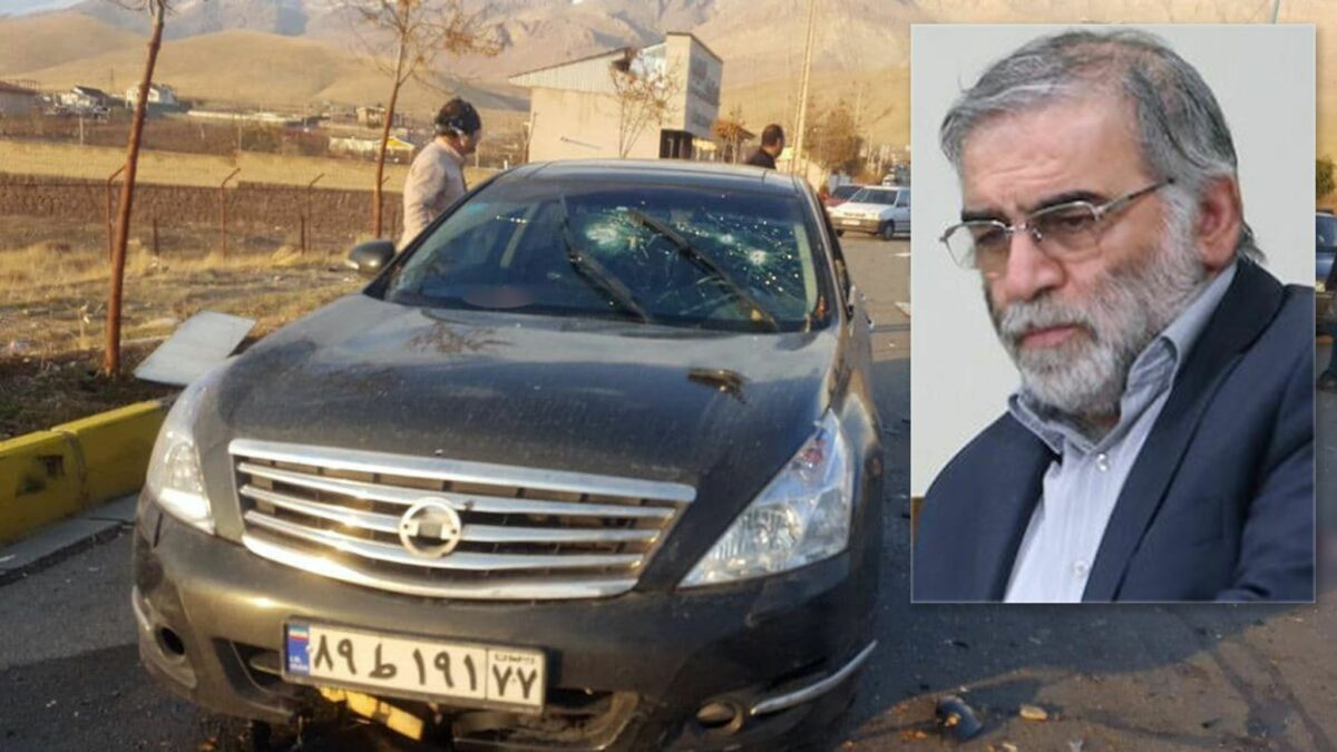 Iran Accuses Israel of Assassination of Nuclear Expert