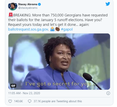 SIDNEY POWELL - I'm Going To Blow Up Georgia First! Enter Stacey Abrams...