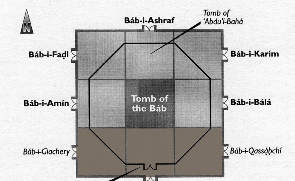Baha'i Historical Facts: The Doors to the Shrine of the Bab – Named after  Eminent Believers
