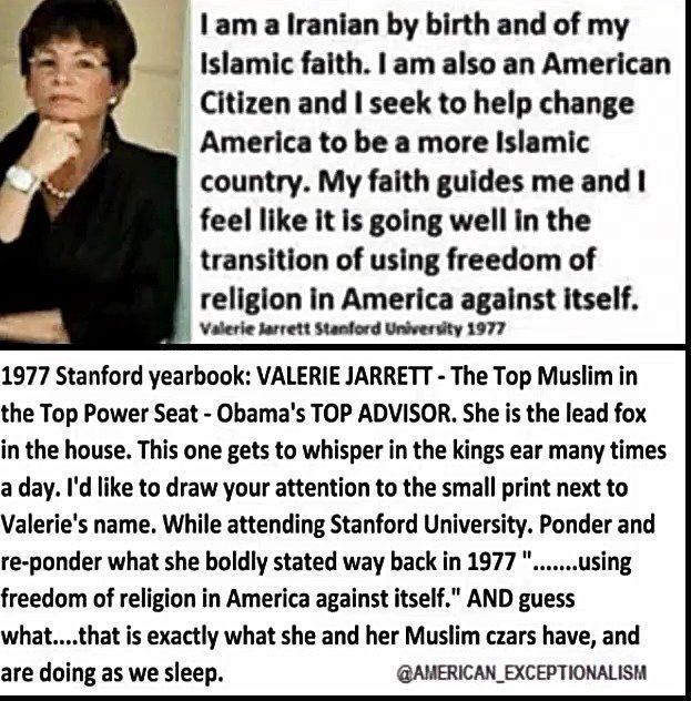 SlantRight 2.0: What? Valerie Jarrett says BHO Scandal Free