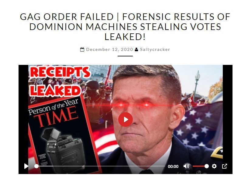 boom gag order fail dominion forensic audit results leaked foreign interference