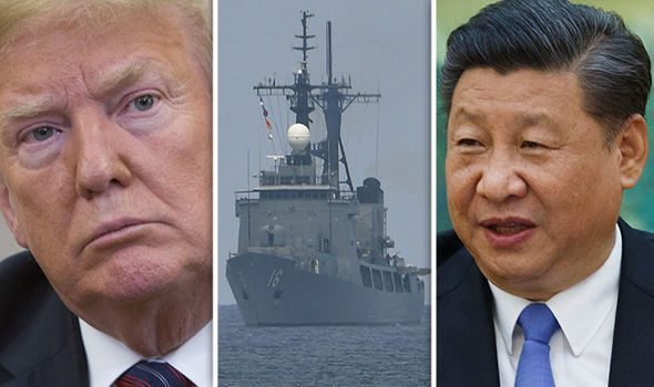 CHINA and US PREPARE FOR WAR, NOTHING HERE TO SEE - MOVE ALONG.