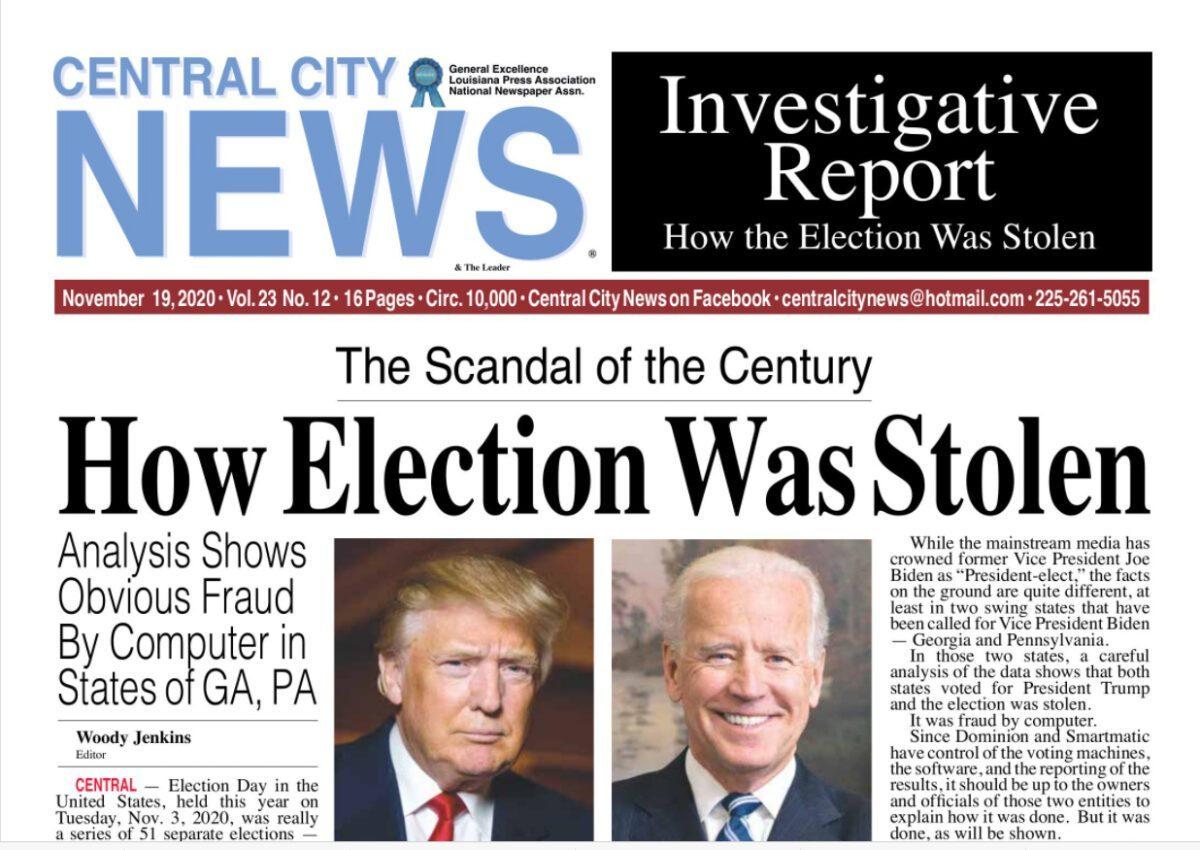 election stolen