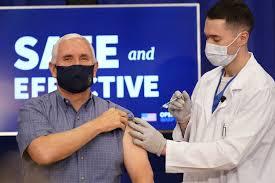 Pence, wife Karen, surgeon general get COVID-19 vaccines