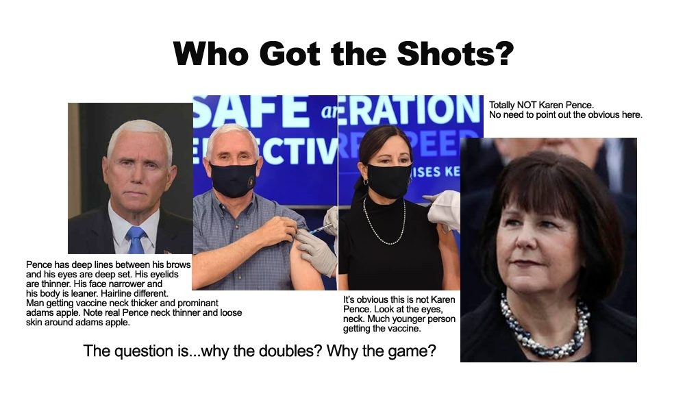 pence and karen take vaccine so now america trusts it right