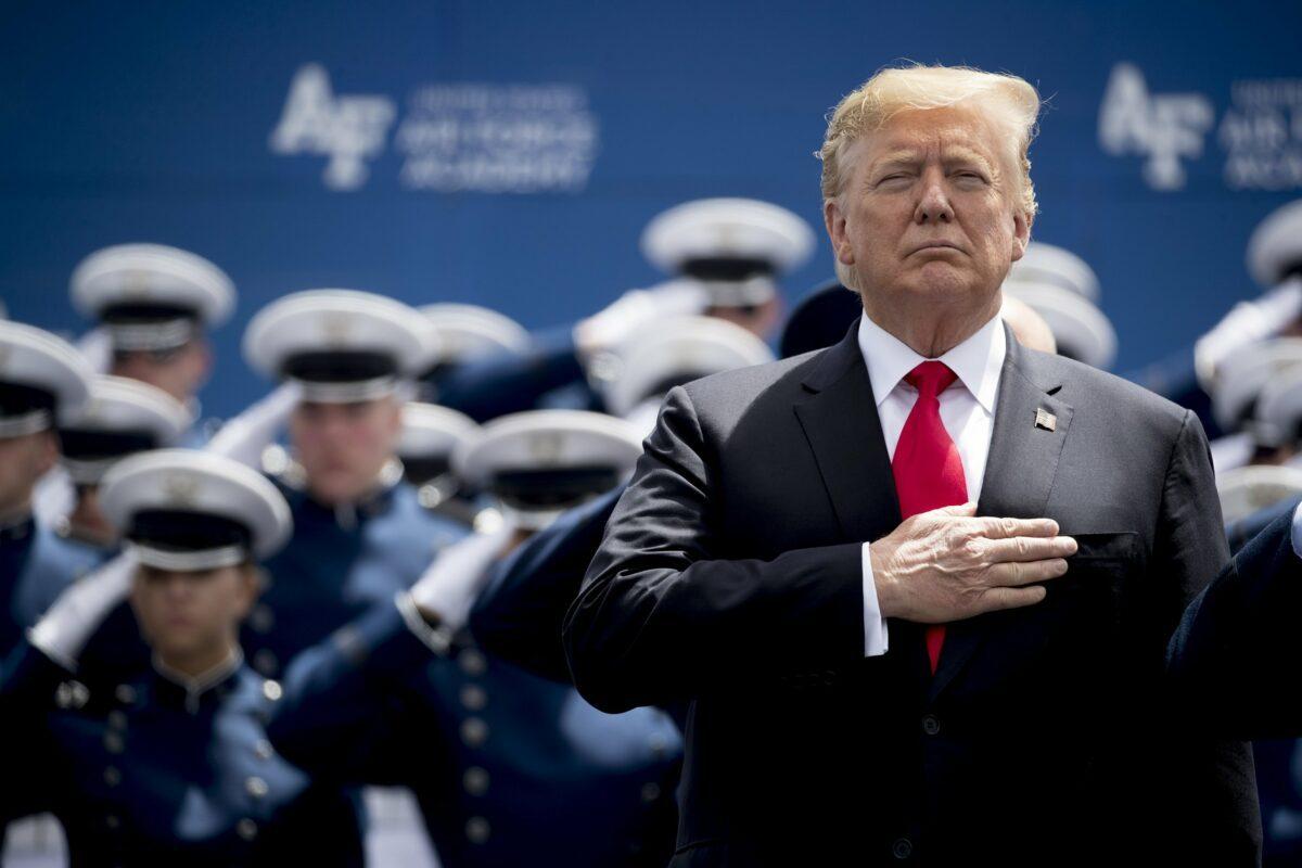President Trump Invokes 2018 executive order, authorizing military response to cyber warfare, see NSPM 13!