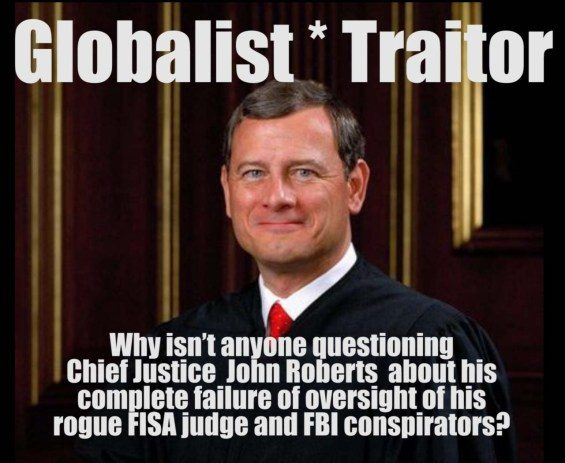 roberts traitor