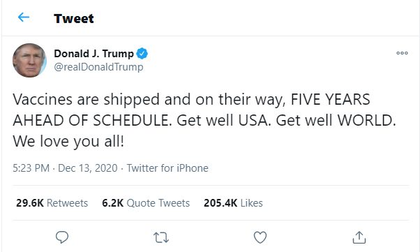 trump tweet another message within a message