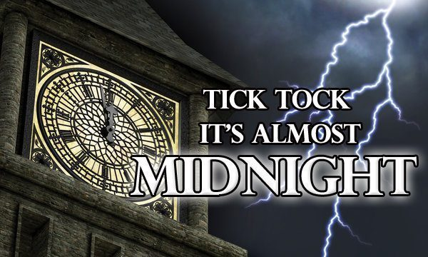 WHAT HAPPENS WHEN THE CLOCK STRIKES MIDNIGHT?