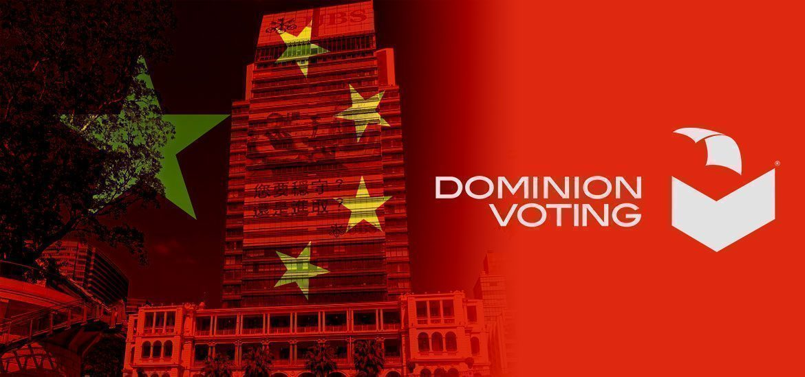 WHO HAS BEEN SLEEPING WITH CHINA  AND DOMINION OVER USA ELECTIONS 2020? NOT NEW, JUST AT THE FINAL BREAKING POINT!