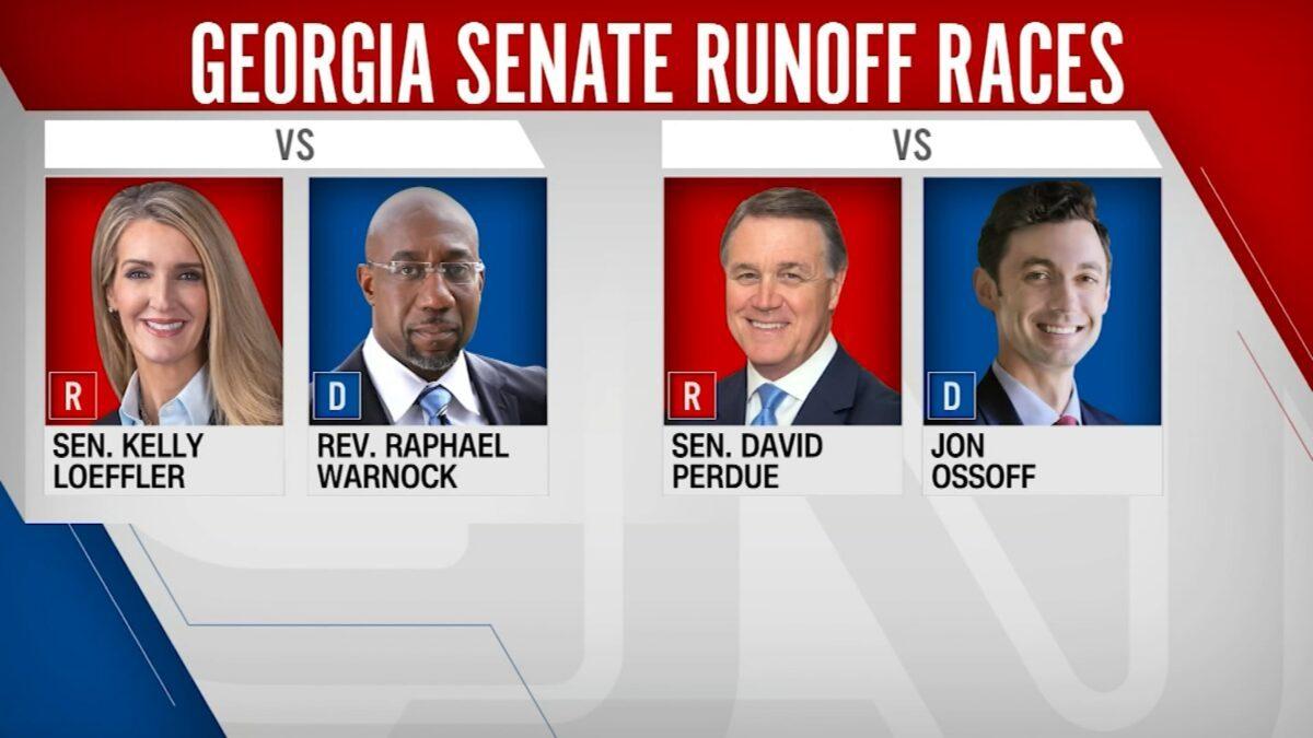 GEORGIA ELECTION RESULTS RAZOR THIN MARGINS...WHO WILL WIN?