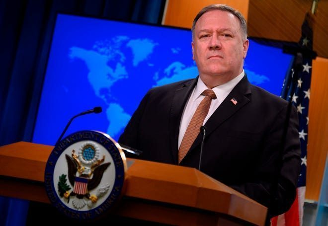 SECRETARY OF STATE POMPEO - WHAT IS HE TELLING YOU HERE?