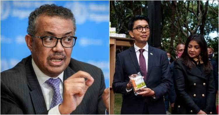 Madagascar President Exposes WHO -  Refused $20 Million Dollar Bribe To Add Toxins To Covid-Organics!