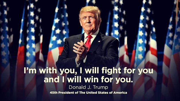 PRESIDENT TRUMP TOLD US THE PLAN IN ADVANCE...