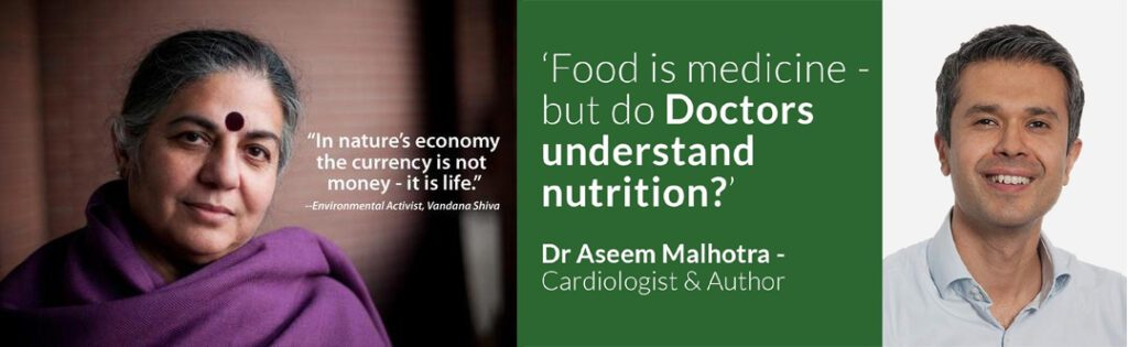 Vandana Shiva and Dr. Aseem Malhotra - AMAZING INDIVIDUALS UNAFRAID TO TELL THE TRUTH!