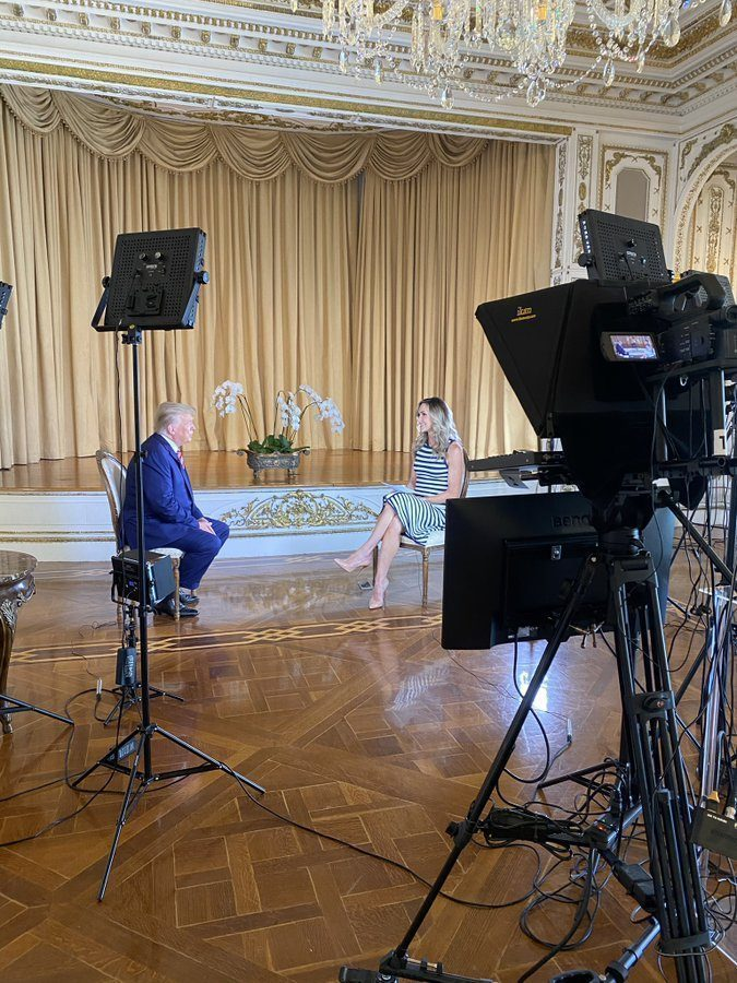Facebook BANNED PRESIDENT TRUMP INTERVIEW