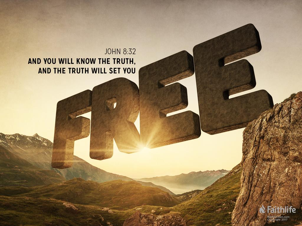 FAITH, DISCERNMENT AND UNDERSTANDING - THE TRUTH SHALL SET YOU FREE!