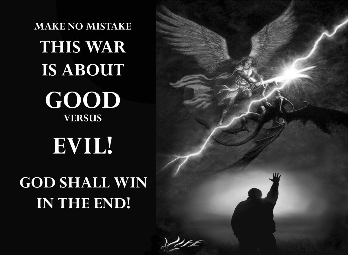 GOD VERSUS EVIL SATANS...WHAT SIDE ARE YOU ON?
