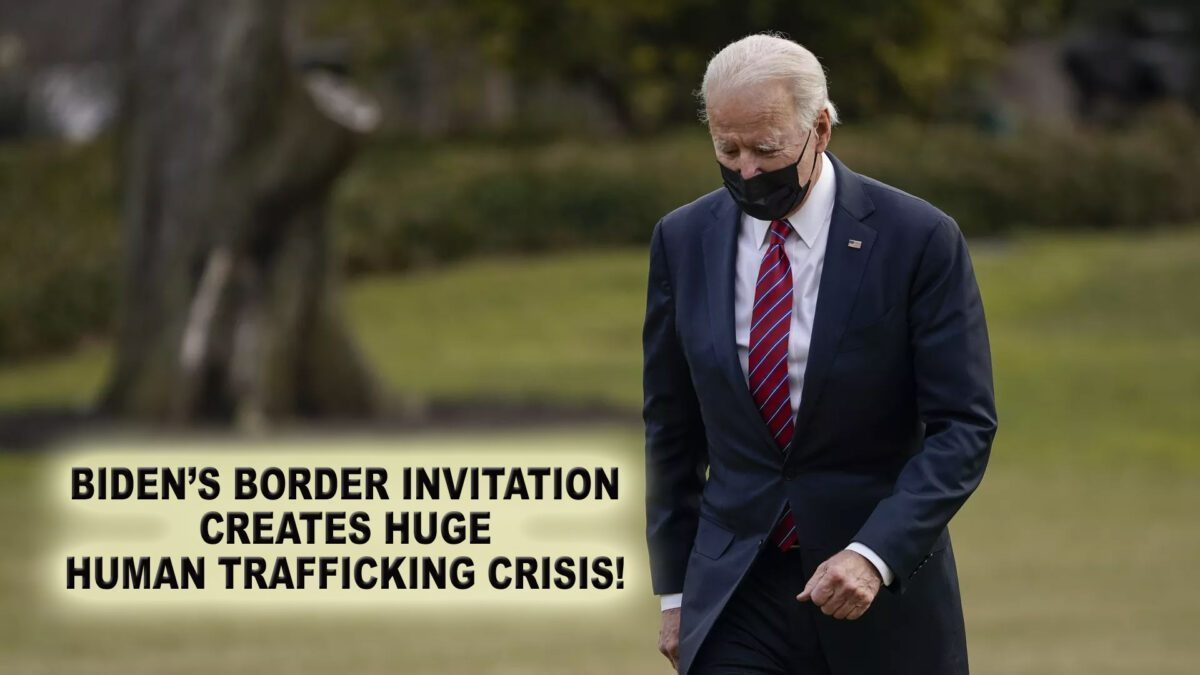 HUMAN AND CHILD TRAFFICKING - BIG BUSINESS! BIDEN KNOWS THIS!