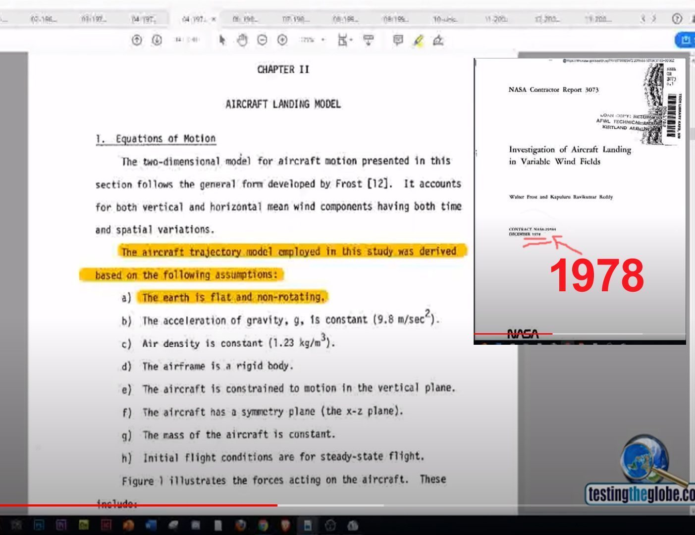 interesting that nasa docs show patents that work on flat earth concept