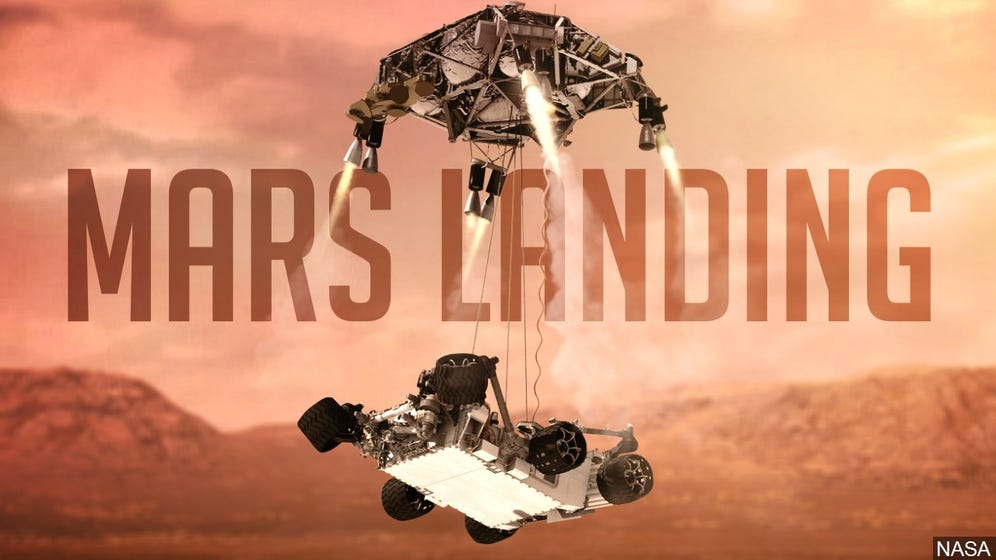 MARS LANDING - WHERE IS ALL THE HOOPLA?