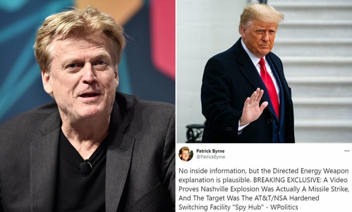 Patrick Byrne The Deep Rig Book - and Trump Will Be Back!