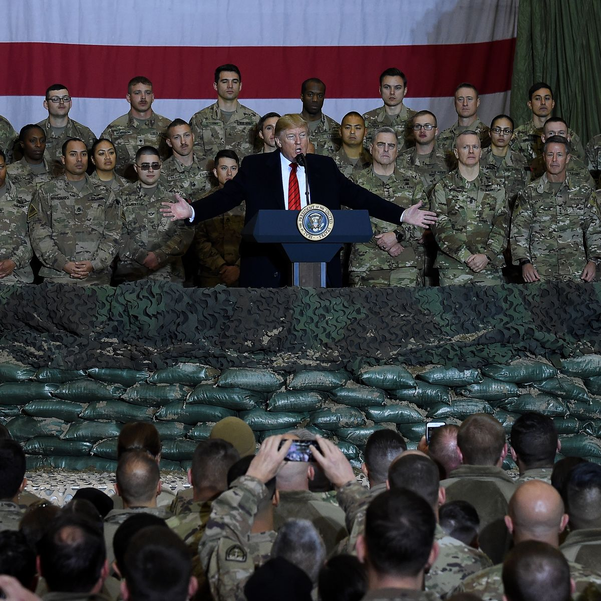 WHAT'S GOING ON WITH THE MILITARY?