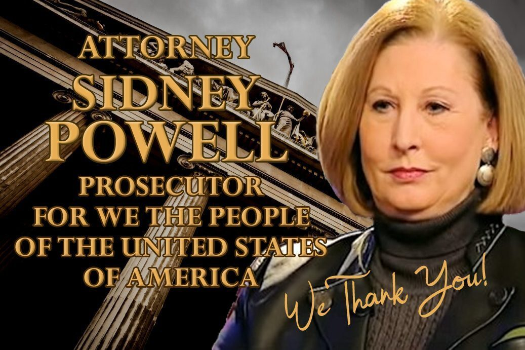 Attorney Sidney Powell Stands By Her Statement!