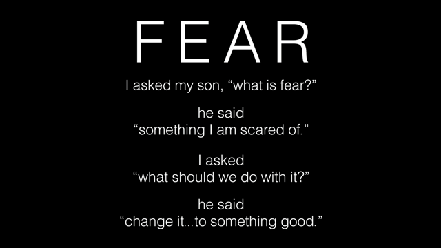"""What is fear?""""... — Operation Pretty Things"""